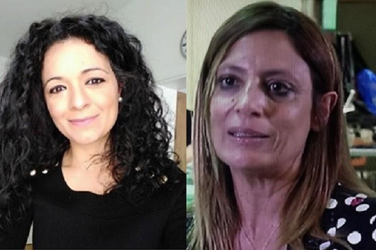 Francesca Galizia e Bruna Piarulli, candidate rispettivamente per Camera e Senato col Movimento 5 Stelle. <span>Foto BisceglieViva</span>