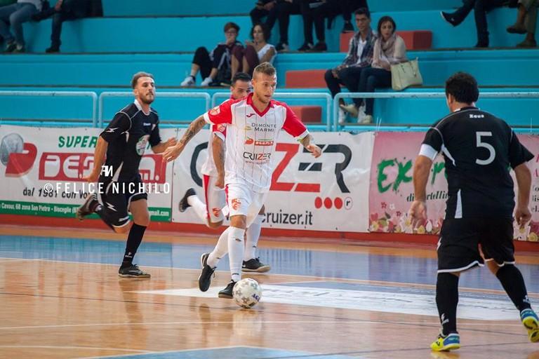 Diaz formato playoff, sabato sfida all'Olympique Ostuni