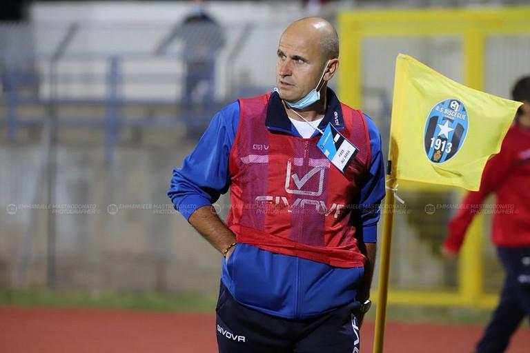 Bisceglie calcio: Giovanni Bucaro. <span>Foto Emmanuele Mastrodonato</span>