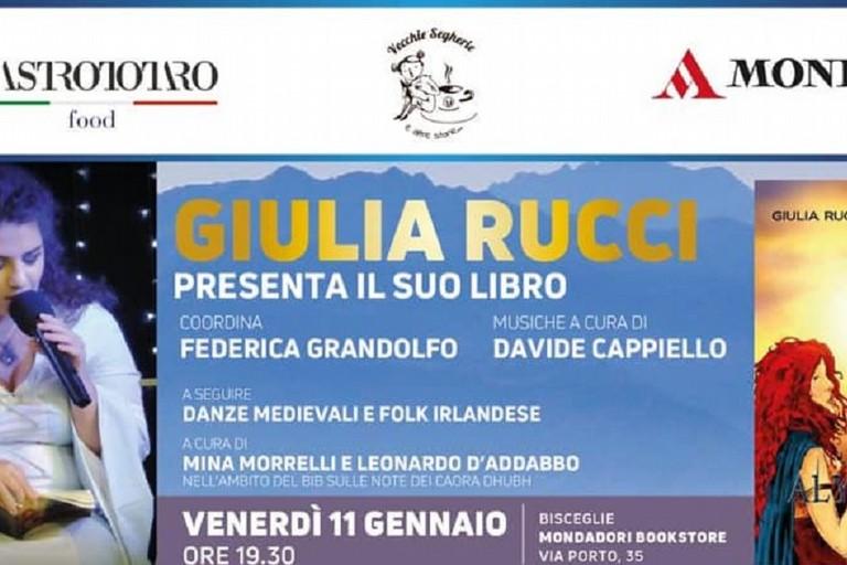 Giulia Rucci presenta il libro