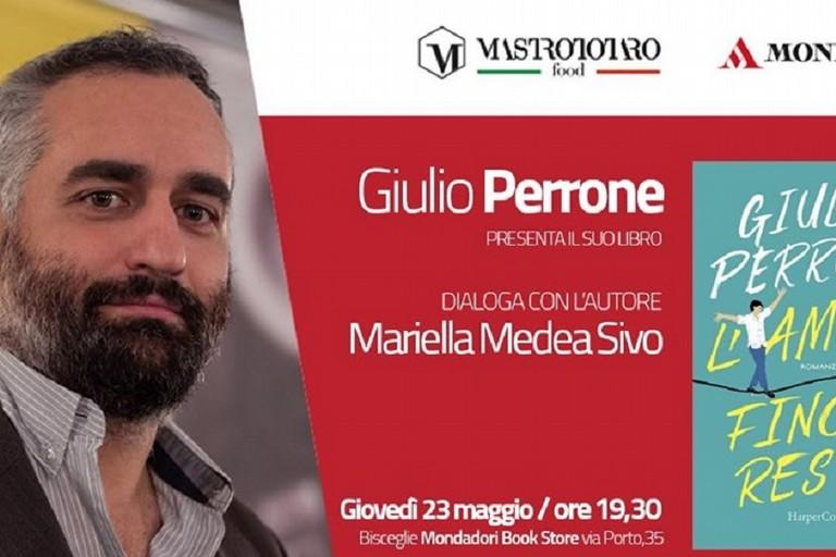 Giulio Perrone presenta il libro