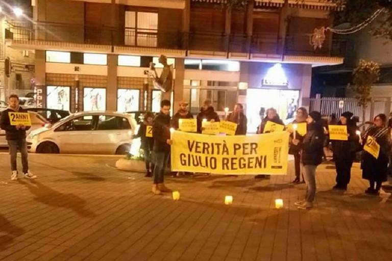 Verità per Giulio Regeni, manifestazione di Amnesty a Bisceglie