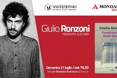Giulio Ronzoni presenta il libro