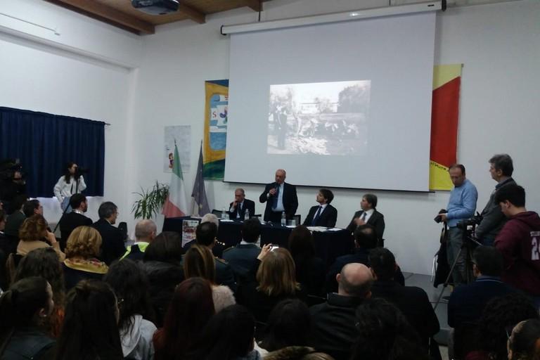 Giuseppe Costanza all'istituto