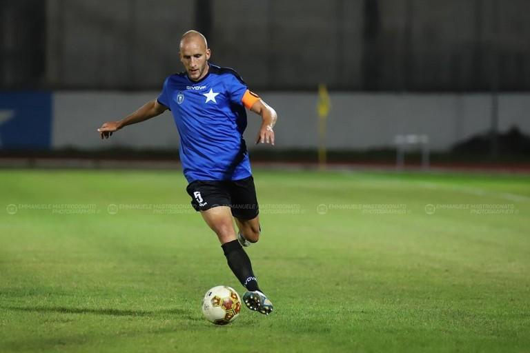Bisceglie calcio: Giusto Priola. <span>Foto Emmanuele Mastrodonato</span>