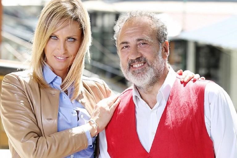 I conduttori di Linea Verde Chiara Giallonardo e Marcello Masi