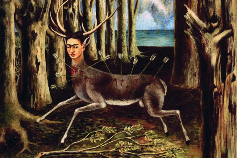 Il cervo ferito di Frida Kahlo