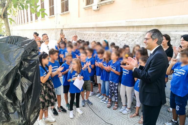 Il sindaco Angarano al primo circolo didattico