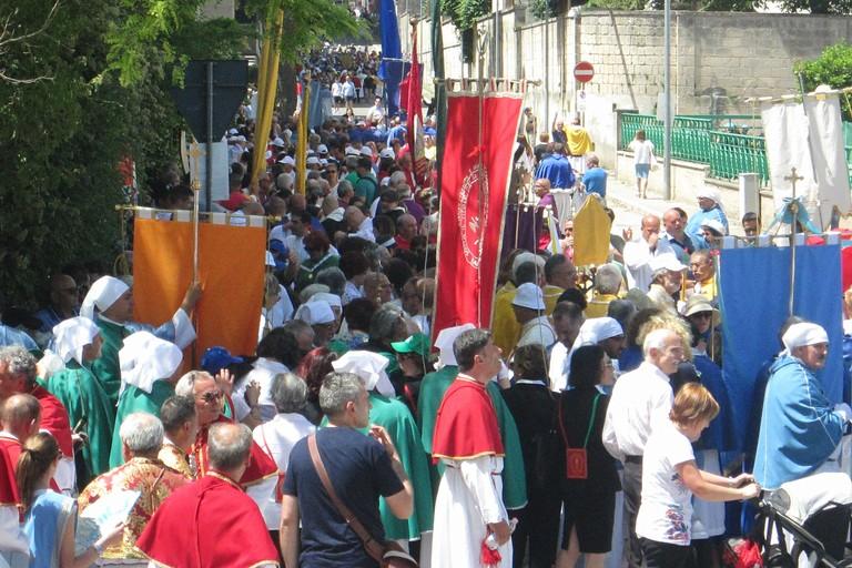 26esimo raduno nazionale delle Confraternite. <span>Foto Luca Ferrante</span>