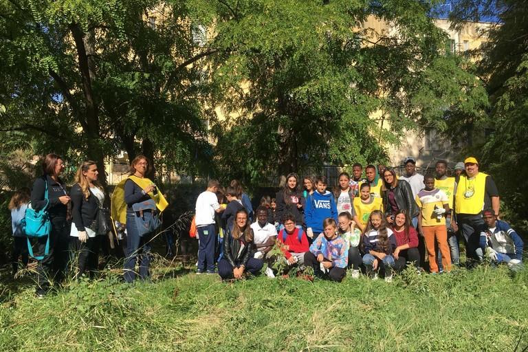 Puliamo il mondo, anche i ragazzi ospiti della Senis Hospes protagonisti dell'iniziativa di Legambiente