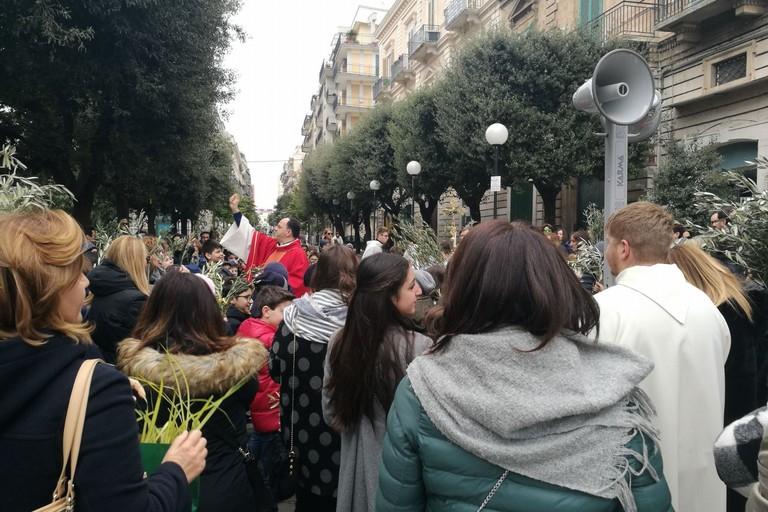 Benedizione delle Palme in piazza San Francesco