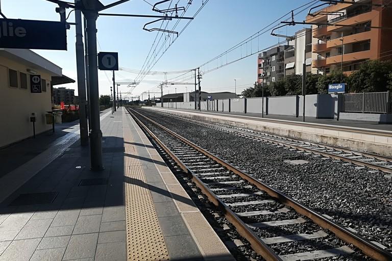 Stazione ferroviaria. <span>Foto Vincenzo Cassano</span>