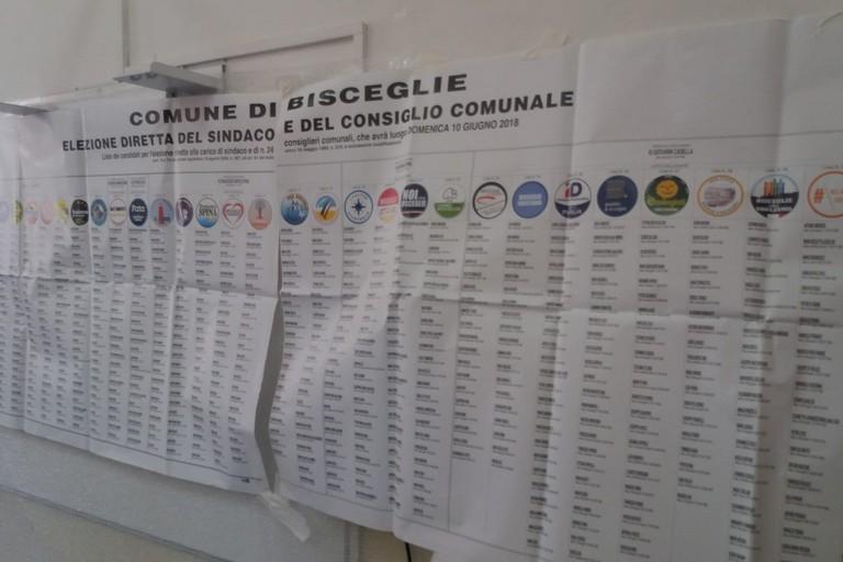 Elenco dei candidati al consiglio comunale
