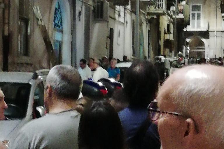 Intervento di Carabinieri e Vigili del Fuoco in via Pietro Micca