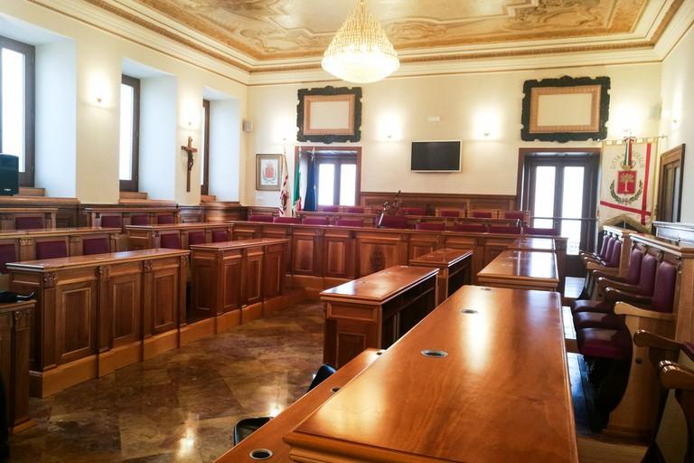 sala consiliare Comune di Bisceglie