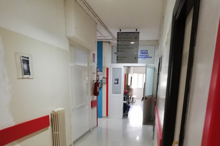 Reparto di pediatria dell'ospedale di Bisceglie