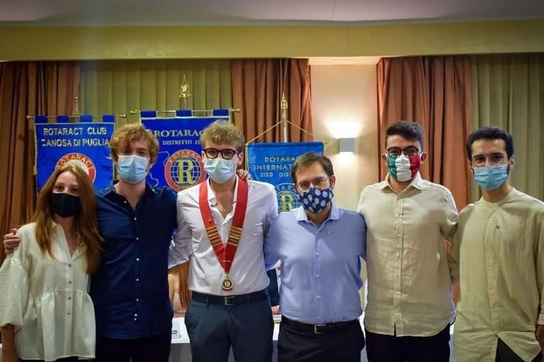 Componenti del direttivo Rotaract Club Bisceglie