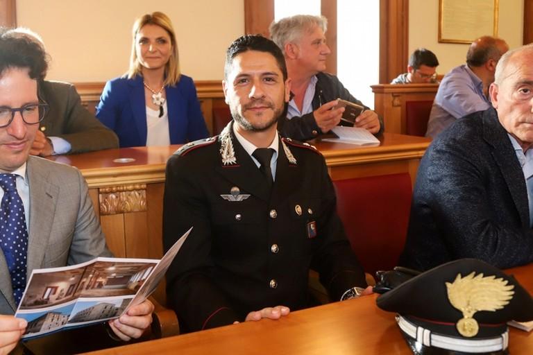 Comandante CC Bisceglie Vincenzo Caputo