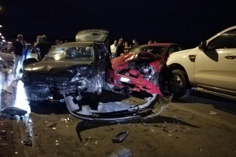 Incidente stradale sulla provinciale Bisceglie-Ruvo/Corato. <span>Foto Serena Ferrara</span>