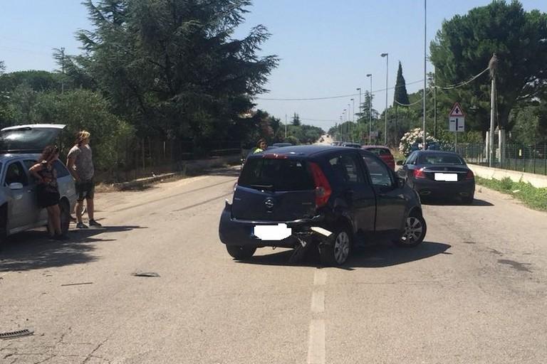 Scontro fra due veicoli sulla provinciale Bisceglie-Corato