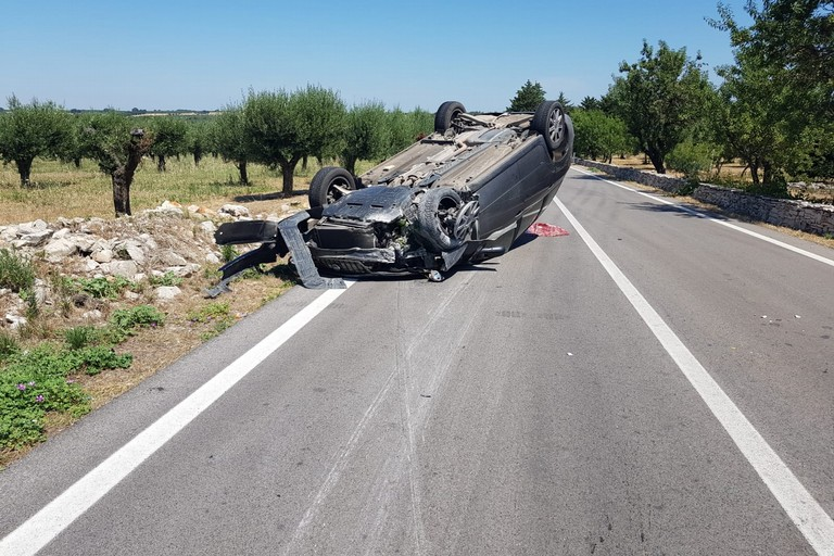 33enne biscegliese ferito in un incidente sul territorio di Andria