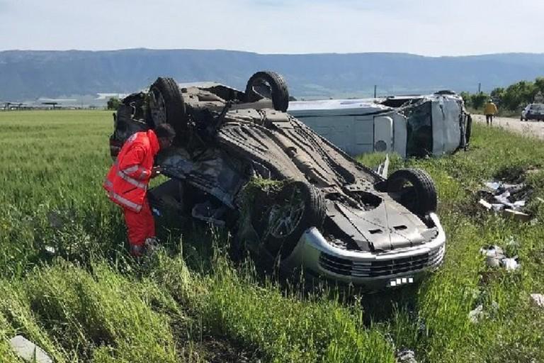 Le conseguenze del tragico incidente. <span>Foto www.sanmarcoinlamis.eu</span>