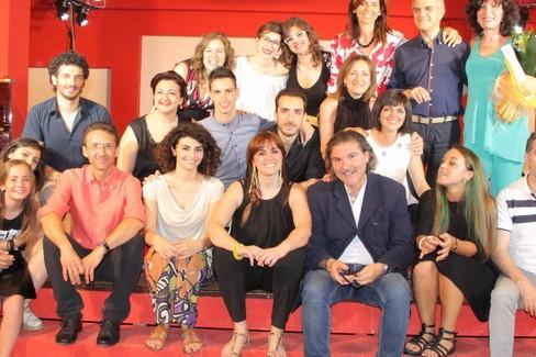 Gli insengnati dell'Accademia musicale Biagio Abbate. <span>Foto Alessandro Fattibene</span>