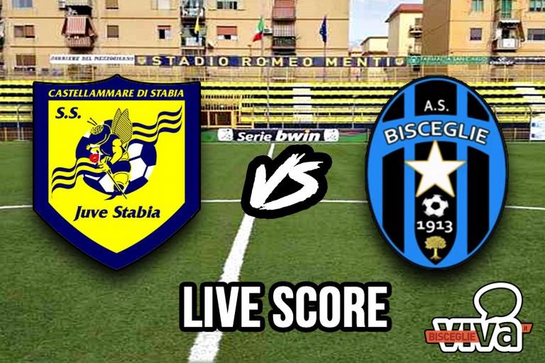 Juve Stabia-Bisceglie, il live score (Foto Cristina Scarasciullo)