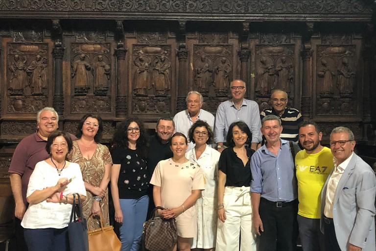 L'accordo del coro cinquecentesco alla Cattedrale