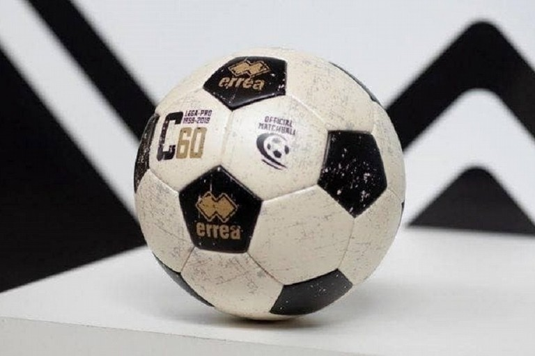 Il pallone ufficiale del campionato di Serie C