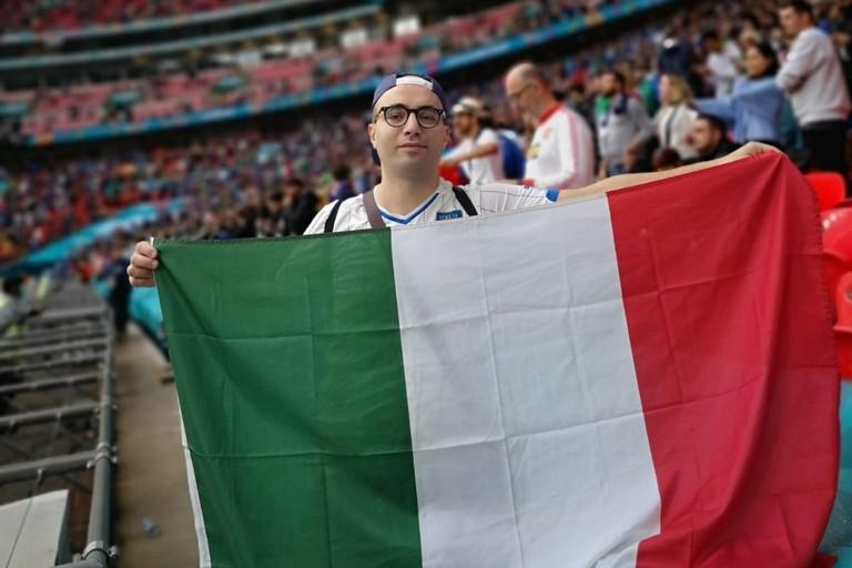 Un biscegliese presente a Wembley per Italia-Spagna