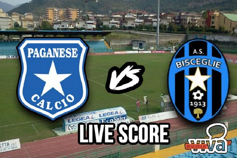 Paganese-Bisceglie 1-1, il live score
