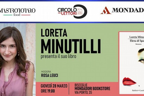 Loreta Minutilli presenta il suo libro