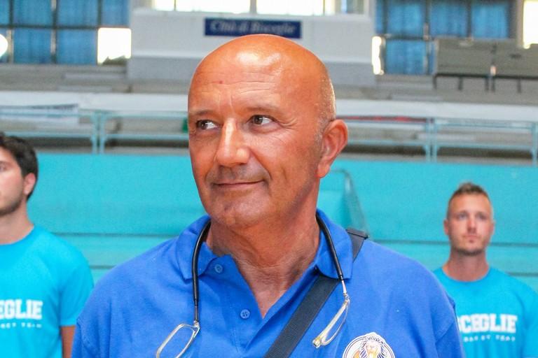Coach Luciano Nunzi. <span>Foto Cristina Pellegrini</span>