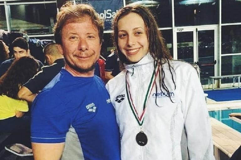 Lucrezia Napoletano con Lorenc Feleqi