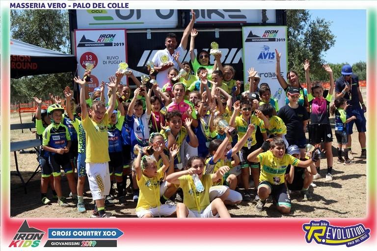 La Ludobike vince il circuito Iron Kids. <span>Foto Roberto Ferrante</span>