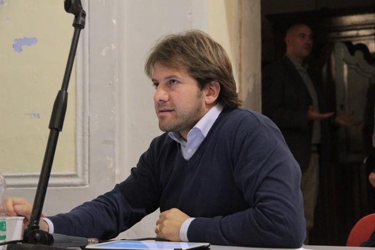 Il consigliere comunale Luigi Di Tullio. <span>Foto Serena Ferrara</span>