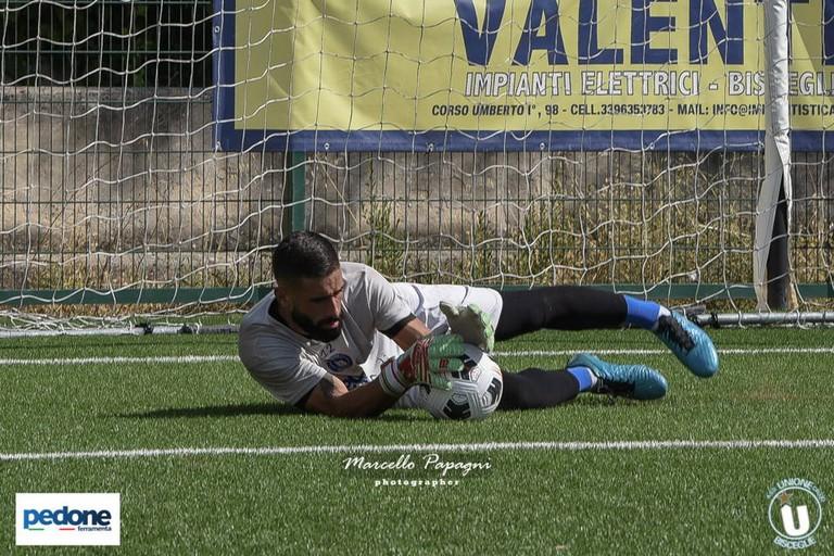 Unione Calcio Bisceglie: Giovanni Lullo. <span>Foto Marcello Papagni</span>