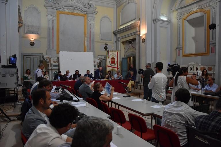 Consiglio comunale di Bisceglie. <span>Foto Cristina Scarasciullo</span>
