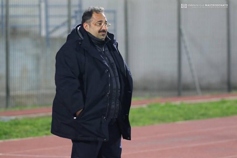 Gianfranco Mancini, tecnico del Bisceglie calcio (Foto Emmanuele Mastrodonato)