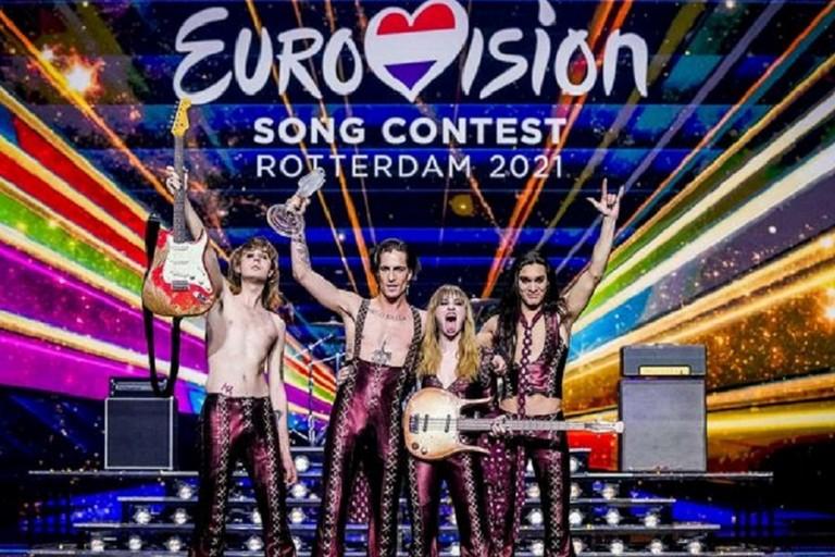 Måneskin trionfatori dell'Eurovision Song Contest 2021