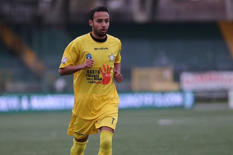 Bisceglie calcio: Mohamed Mansour. <span>Foto Emmanuele Mastrodonato</span>