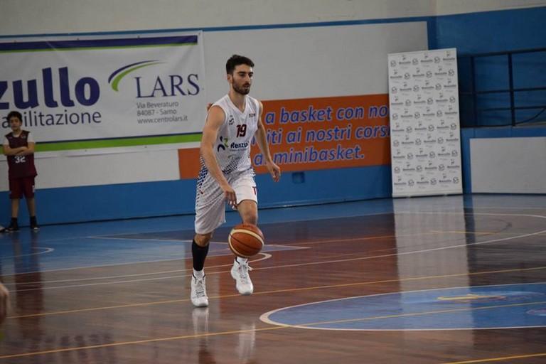 Marco Cucco, già play dei Lions, ora a Salerno (Foto Viviana Diavoletto)