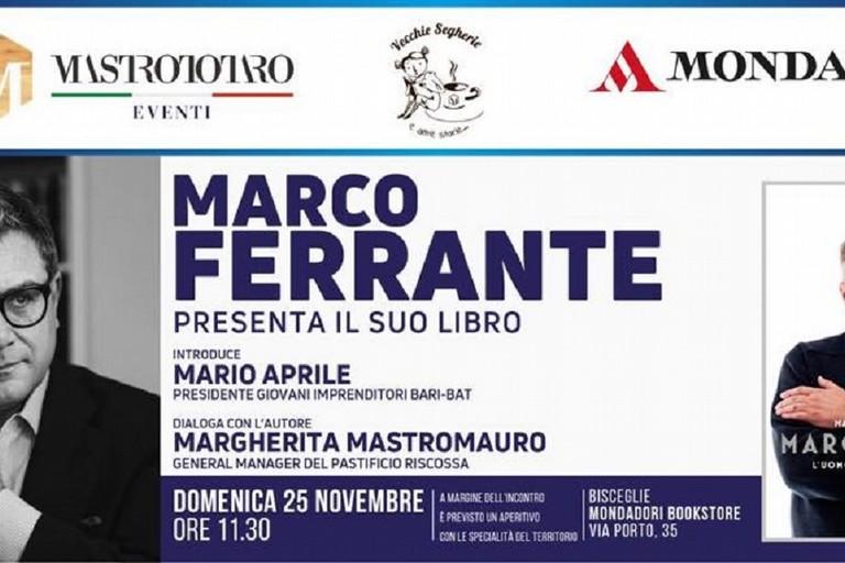 Marco Ferrante presenta il suo libro a Bisceglie