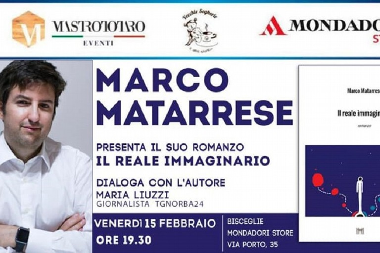 Marco Matarrese presenta il suo libro