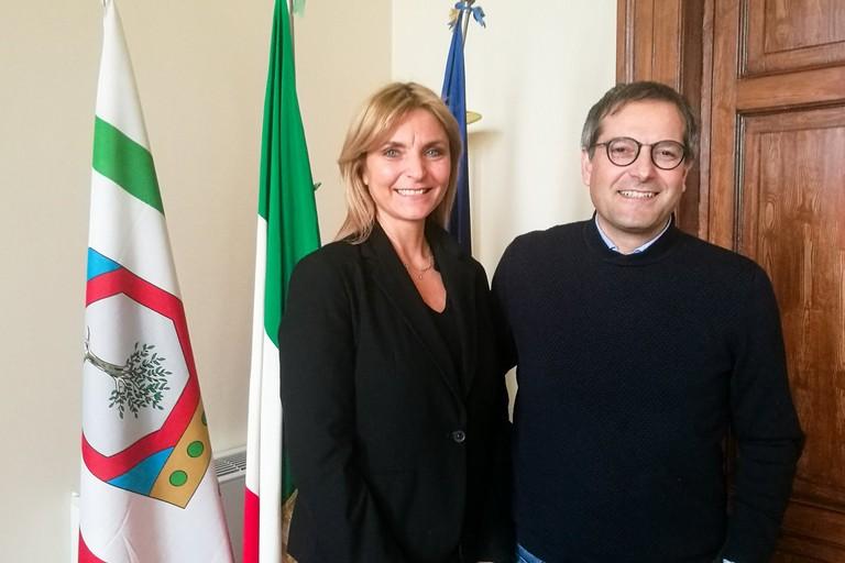 Maria Lorusso con Angelantonio Angarano