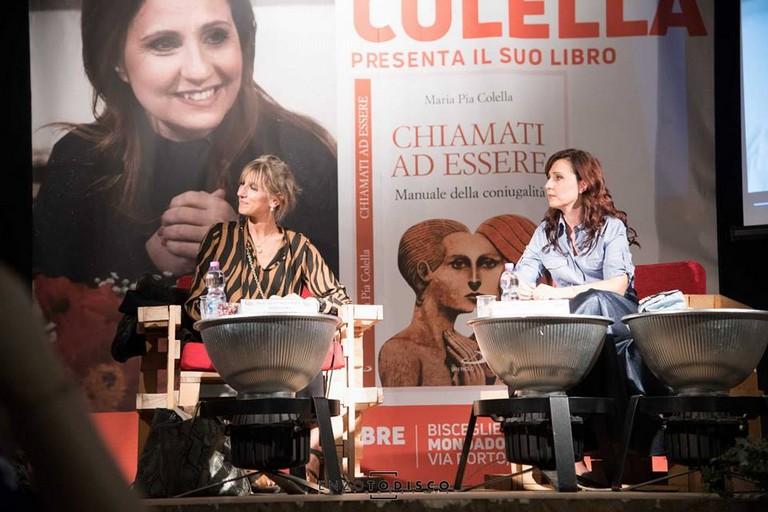 Maria Pia Colella alle Vecchie Segherie Mastrototaro di Bisceglie. <span>Foto Enzo Todisco</span>