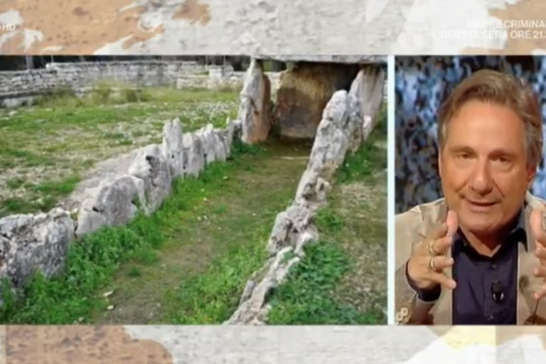 Mario Tozzi parla del Dolmen della Chianca a