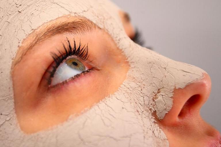 Maschera d'argilla