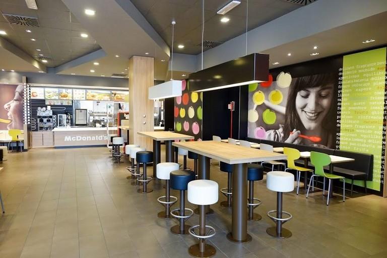 Ristorante McDonald's di Bisceglie. <span>Foto Resaurant Guru</span>